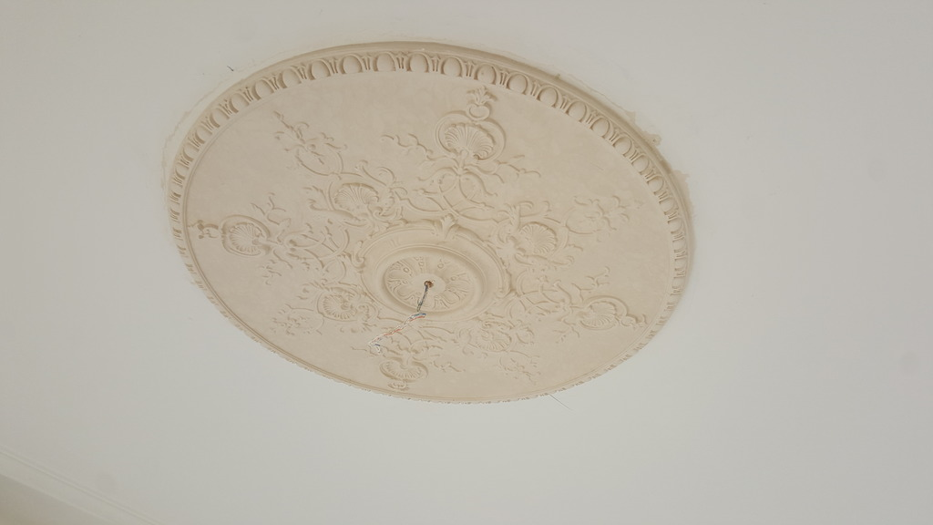 rosaces rapport plafond style louis XV
