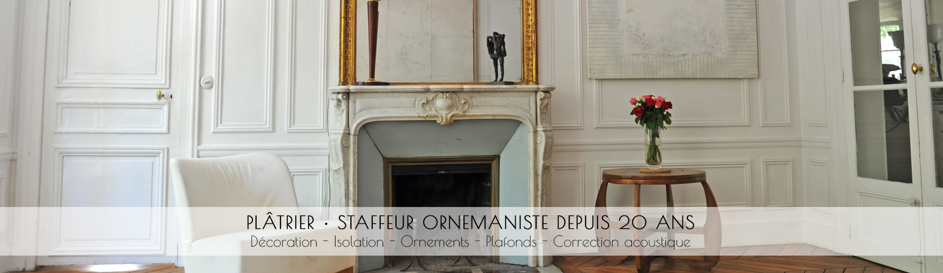 Travaux de restauration int�rieur